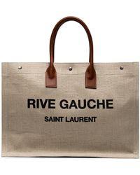 Saint Laurent - Rive Gauche Large Noe Tote - Lyst