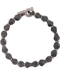 M. Cohen - Hematite Axiom Bracelet - Lyst