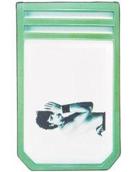 Raf Simons - X Robert Mapplethorpe 'self Portrait' Printed Cardholder - Lyst