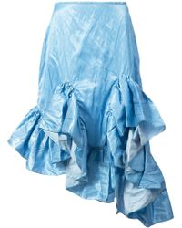 Marques'Almeida - Melted Frill Skirt - Lyst