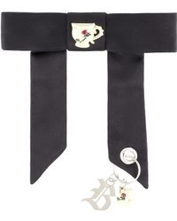 Christopher Kane - Satin Bow With Charms - Lyst