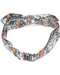 Maison Michel | Printed Hairband | Lyst