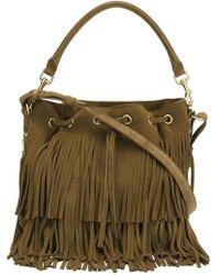 Saint Laurent - Medium 'emmanuelle' Bucket Bag - Lyst