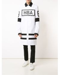 Hood By Air - Logo Patch Coat - Lyst