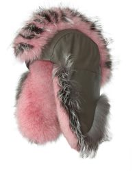Gigi Burris Millinery - Fur Trapper Hat - Lyst