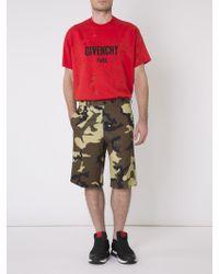 Givenchy - Camo Shorts - Lyst