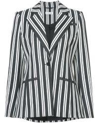 Altuzarra - Acagia Belted Striped Blazer - Lyst