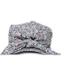 Lyst - Maison Michel Jason Floral Bucket Hat W  Tags in Green 864b0b39d6ba