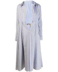 Marni - Nougat Illusion Shirt Coat - Lyst