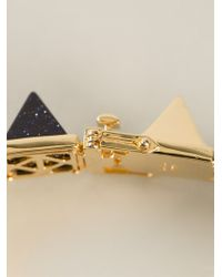 Eddie Borgo - Gemstone Pyramid Bracelet - Lyst