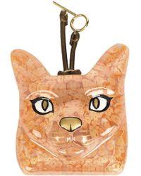 Loewe - Glitter Cat Bag Charm - Lyst