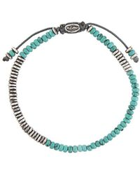 M. Cohen - Round Table Stacked Mini Gemstone Bracelet - Lyst