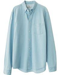 Acne Studios - Isherwood Denim Shirt - Lyst