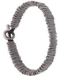 M. Cohen | Bar Beaded Bracelet | Lyst
