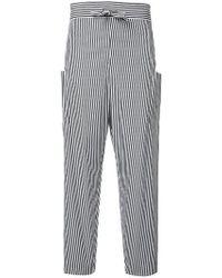 Maison Rabih Kayrouz | Striped Trousers | Lyst