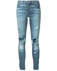 Amiri - Thrasher Skinny Jeans - Lyst