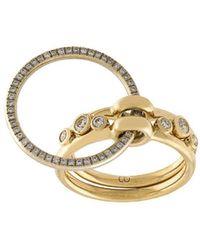 Charlotte Chesnais - Threepart Ring - Lyst