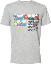 19a48892f Lyst - Moncler X Off-white Printed T-shirt for Men