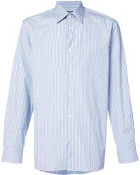 CALVIN KLEIN 205W39NYC - Striped Regular Shirt - Lyst