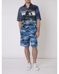Givenchy | 'blue Hawaii' Swim Shorts | Lyst