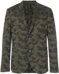 Neil Barrett - Camouflage Blazer - Lyst