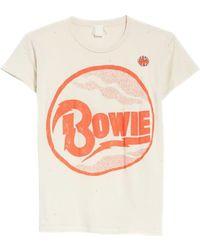 MadeWorn - David Bowie Tee-shirt - Lyst