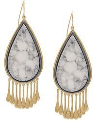 Aurelie Bidermann - Drop-shaped Earrings - Lyst