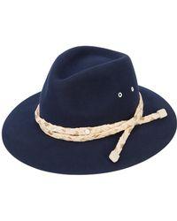 Maison Michel - Rico Fedora Hat - Lyst