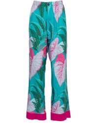 F.R.S For Restless Sleepers - The Webster X Ritz Paris Floral Print Pyjama Set Blue - Lyst