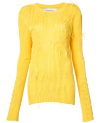 Marques'Almeida | Feather Covered Jumper | Lyst
