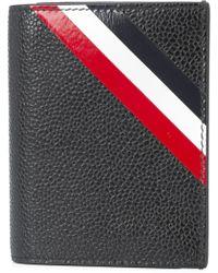 Thom Browne - Stripe Cardholder - Lyst
