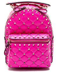 Valentino - Rockstud Spike Mini Backpack - Lyst