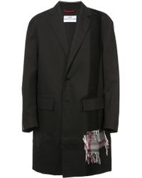 OAMC - Checked Detail Coat - Lyst