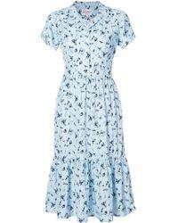 Harley Viera-Newton - Blue Seaside Charlotte Dress - Lyst