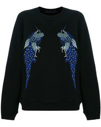 Proenza Schouler - Re Edition Embroidered Sweatshirt - Lyst