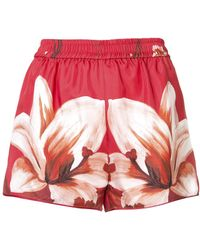 For Restless Sleepers - Floral Print Shorts - Lyst