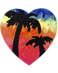 Saint Laurent - 'eighties Hawaii' Pin - Lyst