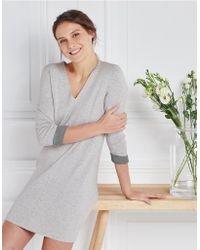 The White Company - Wool-cotton Knitted Dress - Lyst