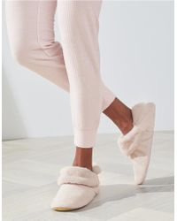 The White Company - Cozy Slipper Boots - Lyst