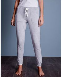 The White Company - Tipped Joggers With Cashmere - Lyst