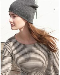 The White Company - Cashmere-rich Sparkle Beanie - Lyst
