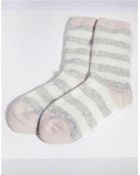 The White Company - Cashmere Novelty Bed Socks - Lyst