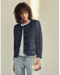 The White Company - Boucle Jacket - Lyst