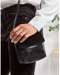 The White Company - Mini Crackle Leather Bag - Lyst