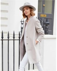 The White Company - Wool-rich Coat - Lyst