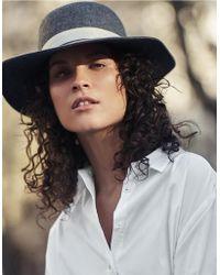 The White Company - Lightweight Wool Felt Fedora Hat - Lyst