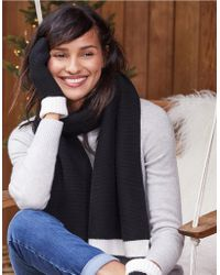 The White Company - Wool-cashmere Scarf - Lyst