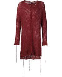 Cedric Jacquemyn | V-neck Kimono Sweater | Lyst