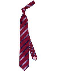 Thomas Pink - Sudbury Stripe Silk Tie - Lyst