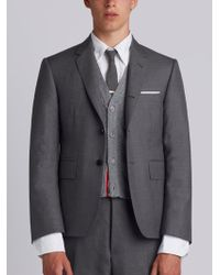 Thom Browne | Classic Suit With Tie In Super 120's Twill | Lyst